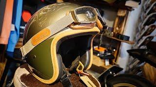 Hedon Hedonist Retro Helme für Vespa, Retro Bikes und Cafe Racer