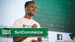 SynCommerce wins the Gaming and Entertainment category at Startup Battlefield Africa