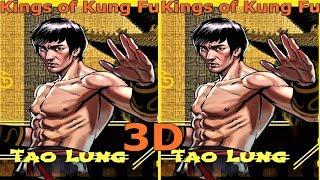 3D VR video Kings of Kung Fu 3D SBS VR box google cardboard