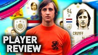 FIFA 19 PRIME CRUYFF PLAYER REVIEW   94 CRUYFF   FIFA 19 ULTIMATE TEAM
