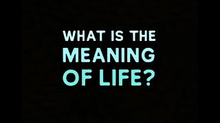 Jordan Peterson: What's the Meaning of Life?