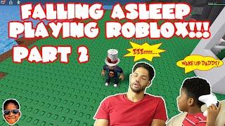 Literally Falling Asleep Playing Roblox Natural Disaster - Part 2