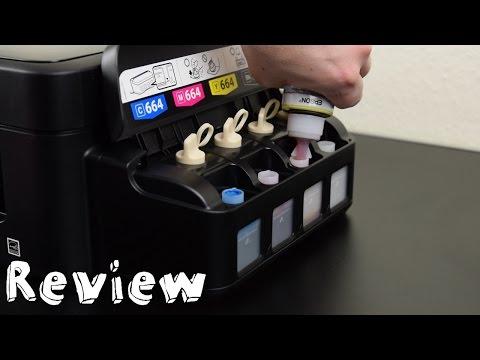 Epson EcoTank ET-2500 - Review - Tintenstrahldrucker ohne Patronen
