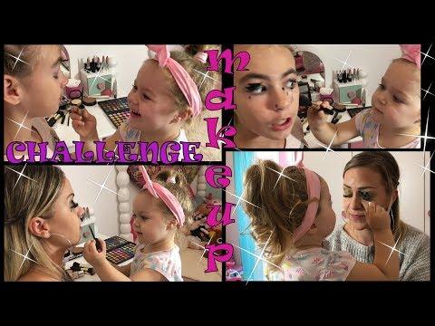 ARIJA ŠMINKA NAĐU I MAMU - Urnebesno!!! Makeup Challenge!!!