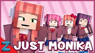 Random Encounters - Just Monika (Minecraft Doki Doki Animated)