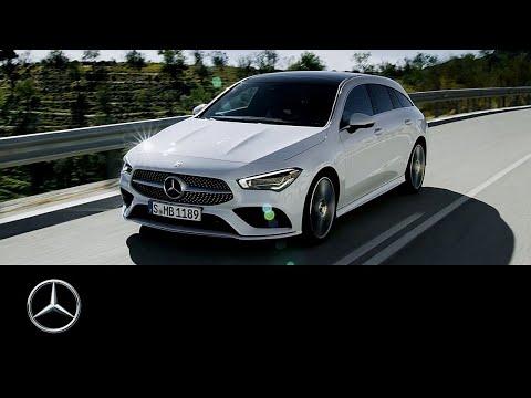 Mercedes Benz Cla Class Shooting Brake Универсал класса C - рекламное видео 1