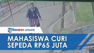 Curi Sepeda Rp65 Juta dan Sembunyikan di Hotel, Mahasiswa di Bandung Akui Uang untuk Bayar Utang