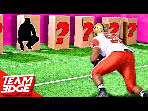 Tackle The Person In The Box | Football Edition!!