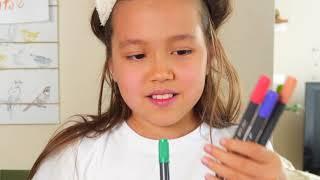 3 МАРКЕРА и КЕДЫ челлендж У кого КЕДЫ круче?