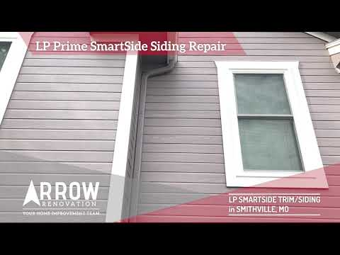 LP SmartSide Trim & Siding Installed on Smithville, MO Home