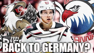 Moritz Seider Going BACK TO GERMANY? Detroit Red Wings Top Prospects Rumours & News - Adler Mannheim