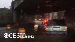 Intense storms pound the Northeast