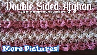 Double Sided Afghan Photos  - Crochet Afghan Photos - Free Crochet Double Sided Afghan Pattern