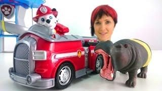 Капуки Кануки и Щенячий Патруль все серии видео игрушки для детей