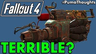 Fallout 4: Is the Junk Jet Any Good and Worth Keeping? Or is it Totally Useless? #PumaThoughts