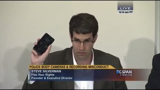 5 Rules for Recording Police: Steve Silverman of FlexYourRights.org