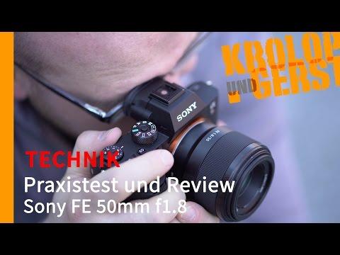Sony FE 50mm 1.8 📷 TECHNIK 📷 Krolop&Gerst