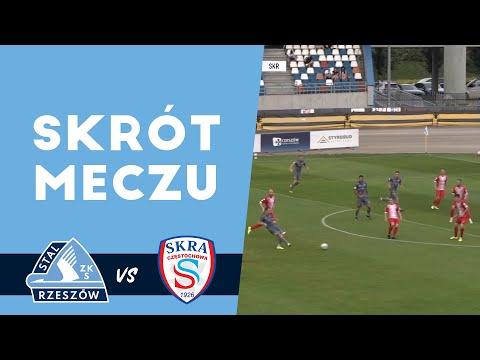 WIDEO: Stal Rzeszów - Skra Częstochowa 4-0 [SKRÓT MECZU, BRAMKI]