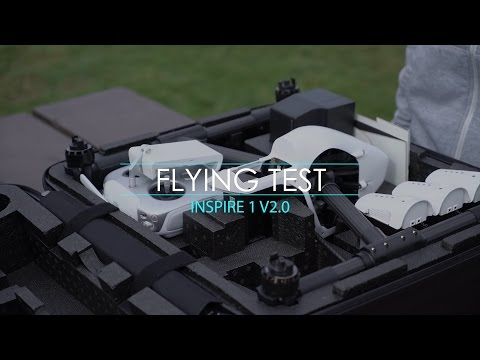 DJI Inspire 1 v2.0 Flying Test on a Cloudy Day! [4K]