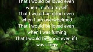 Alanis Morissette - That i would be good lyrics