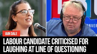 Senior Labour candidate criticised for laughing at Nick Ferrari's line of questioning