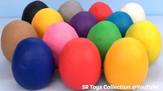 Fun Learning Colours for Kids with Play Doh Surprise Eggs Tom and Jerry Toy Story Finding Dory Toys - Video Youtube