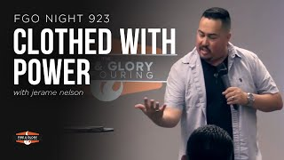 CLOTHED WITH POWER | Jerame Nelson | September 27, 2019