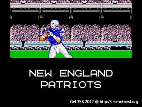 Modders Celebrate The New NFL Season By Updating Tecmo Super Bowl To 2011