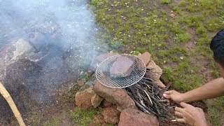 [Bacon's Journey] How to camp in the wild for a day without stove