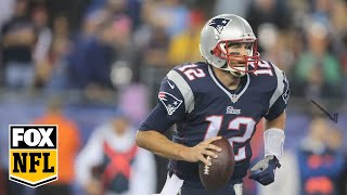 "Randy Moss Interviews Tom Brady, ""Was Gronk's catch better than mine?"""