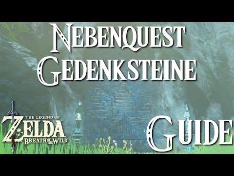 ZELDA: BREATH OF THE WILD - Nebenquest - Gedenksteine - Guide