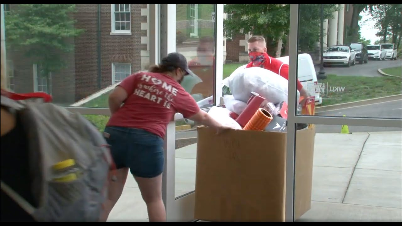 View from the Hill: Housing & Residence Life implements safety measures for students moving back Video Preview