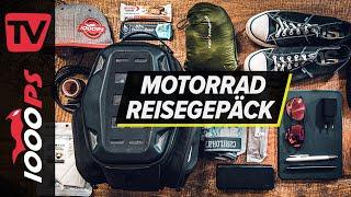 Mein Reisegepäck für Motorradtouren 2021