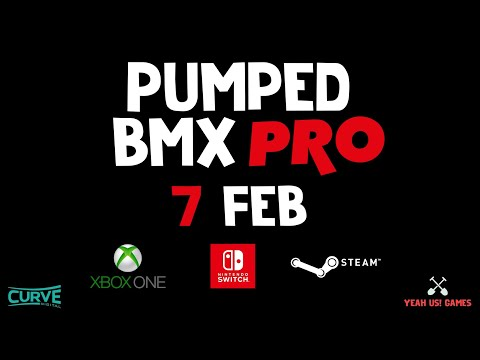 Pumped BMX Pro on Xbox One, Steam and Nintendo Switch - Official Reveal Trailer thumbnail