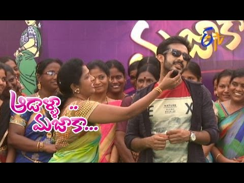 Aadaalla Majaaka | 27th April 2017 | Full Episode | ETV Telugu
