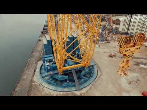 How to assemble a 3200-tonne capacity crane