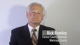 Former Maricopa County Attorney Rick Romley endorses Terry Goddard for Secretary of State