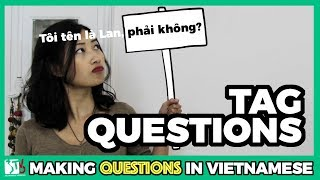 Learn Vietnamese with TVO   Tag Questions