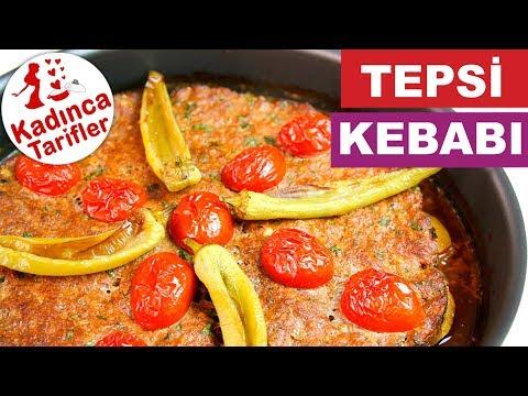 Tepsi Kebabı Tarifi Videosu