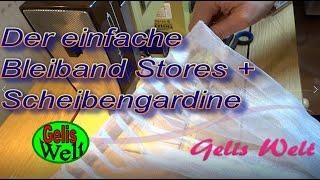 Bleiband Stores U0026 Scheibengardine Auf Band Einfach, Schnell DIY