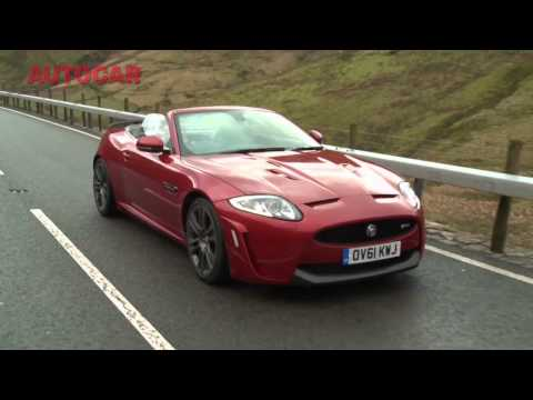 Jaguar XKR-S Convertible video review