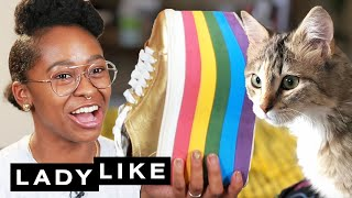 Freddie Reveals What's In Her Shoe Trunk • Ladylike