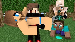 Monster School : Steav life vs Cute girl Part (2)- Minecraft Animation