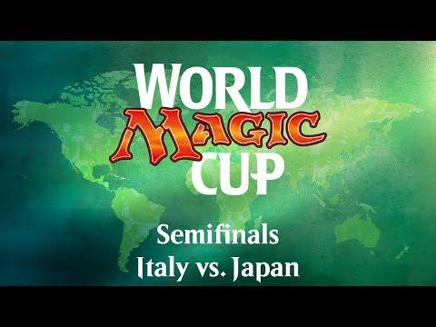 2017 World Magic Cup Semifinals: Italy vs. Japan