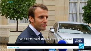 A brief history: 39-year-old Macron set to emerge French president