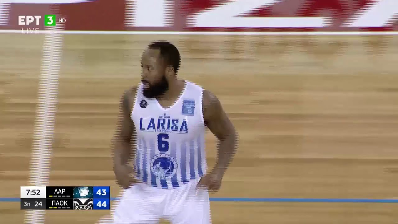 Basket League | Λάρισα – ΠΑΟΚ 88-91 (78-78 κ.δ.) | HIGHLIGHTS | 28/02/2021 ΕΡΤ