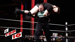Top 10 Raw moments: WWE Top 10, January 18, 2016
