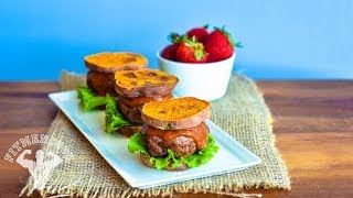 Sweet Potato Sliders / Hamburguesitas (Sliders) de Batata