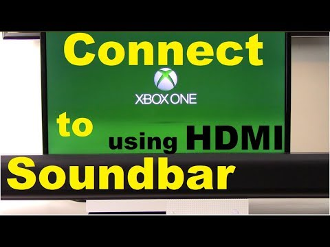 How to Connect XBox One to Soundbar using HDMI