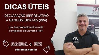 Descubra os documentos necessários para declarar IR sobre ações judiciais